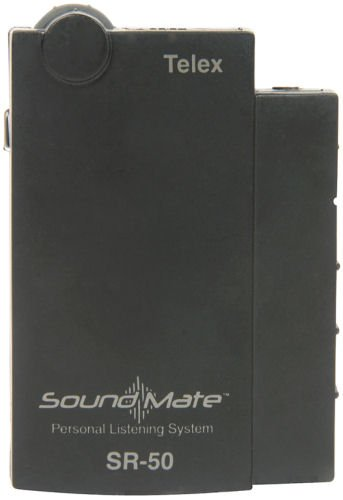 (Telex SoundMate SR-50 Single Channel Receiver Ch A 72.1(Assistive Listening) Earphones not Included)