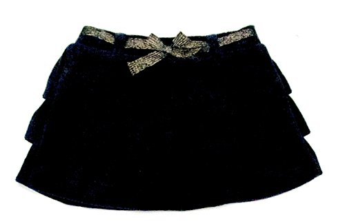 Juicy Couture Soft Velour Skirt (Navy Blue) (6/12 Months) by Juicy Couture