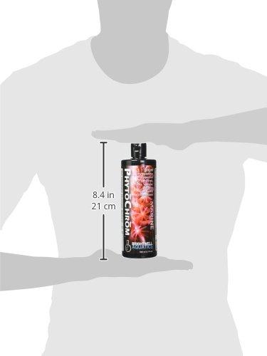 Picture of Brightwell Aquatics 1-30 Micron PhytoChrom Color Enhancing Phytoplankton Aquarium Supplement, 500 mL