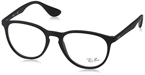 Ray-Ban Women's RX7046 Eyeglasses Rubber Black - Ray Bans Womens Glasses