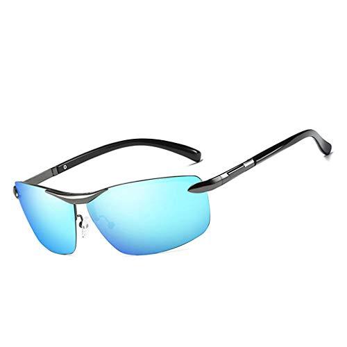 de aleación Lentes Eyewear del 6 de Las Hombres Las polarizaron Cuadrado Protección Coolsir Gafas UV400 de Marco conducción4 en Forma Sol de Providethebest 7OTqUW4w6y