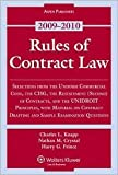 img - for Rules of Contract Law 2009 Publisher: Wolters Kluwer Law & Business book / textbook / text book