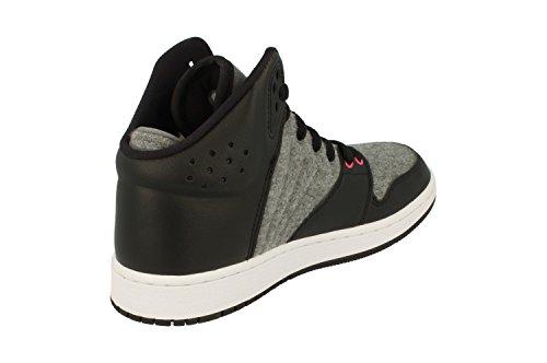 Nike Air Jordan 1 Flight 4 Prem Gg Hi Top Sneakers 828245 Sneakers Cool Grigio Chiaro Rosa Chiaro 019