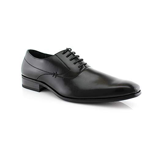 Delli Aldo Frank M19121 Mens Classic Oxford Lace up Dress Shoe