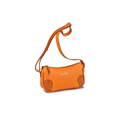 Victorio & Lucchino Shoulder Bag Tacked Horse Orange Outlet 1025