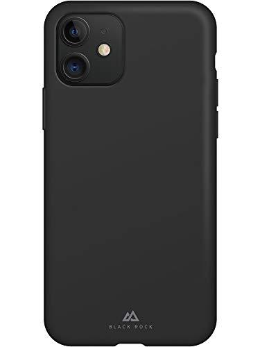 Black Rock - Hülle Fitness Case Passend für Apple iPhone 11 | Silikon Handyhülle, Dünn, rutschfest (Schwarz)