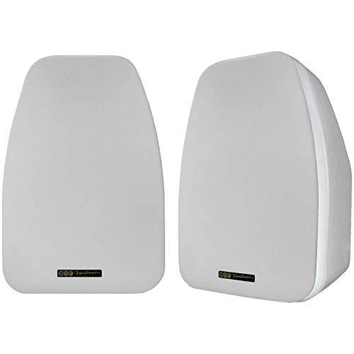 BIC America Adatto DV52siW 2-Way 5.25-Inch Indoor/Outdoor Speakers, White (Pair)