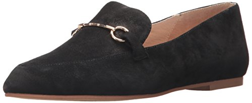 Lavandería China Kristin Cavallari Mujeres Cambrie Slip-on Loafer Black Suede