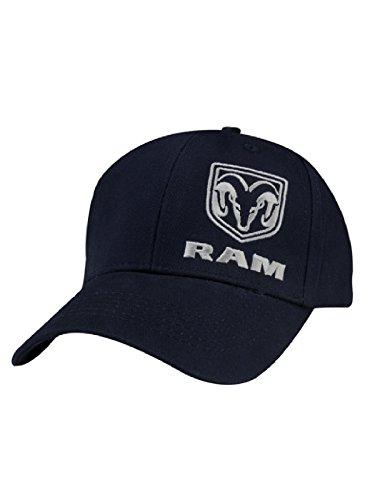 RAM Navy Cotton Twill Cap