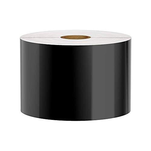 Premium Vinyl Label Tape for DuraLabel, LabelTac, SafetyPro and Others, Black, 3