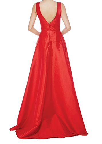 A Einfach Rock Ballkleider Abschlussballkleider V Linie Blau Ausschnitt Lang Dunkel Charmant Damen Abendkleider Brautmutterkleider Uqwv8WHx