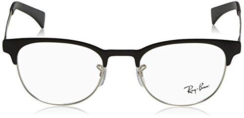 69646172be Ray-Ban Eyeglasses RX6317 2832 Top Black On Matte Silver 49 20 140 ...