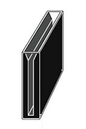 Customized Micro Quartz Cuvette, Black Wall, 5cm Lightpath 7ml, 4mm Slit, 50mm Lightpath,cuvettes, Cell