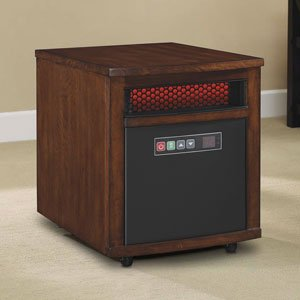 Duraflame 9hm9000-c240 4,600-btu Infrared Compact Personal Electric Space Heater with Thermostat