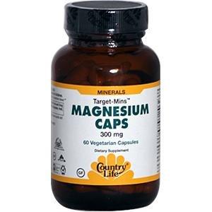 La vie de magnésium 300 mg Pays, 60 capsules