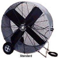 - TPI PBS42-B Industrial Belt Drive Portable Blower, Swivel, 42