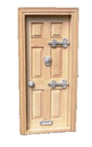 Melody Dollhouse Door Furniture Set 1:24 Scale Hinges Knocker Handle & Letterbox
