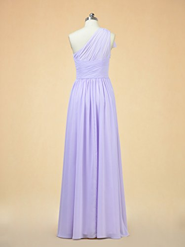 Dress Line Chiffon Bridesmaid Party Long Gown Alicepub Grape Gown Prom Evening A Ball w5qIWREt