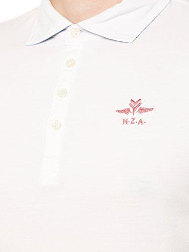 NZA NEW ZEALAND AUCKLAND Polohemd XL Weiß
