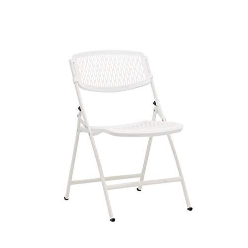 MityLite FlexLite Folding Chair, White, 4-Pack, Arrives Fully Assembled by FlexOne