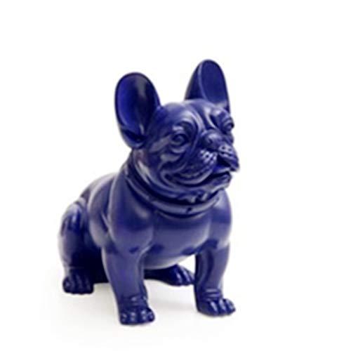 silver bulldog statue - 7