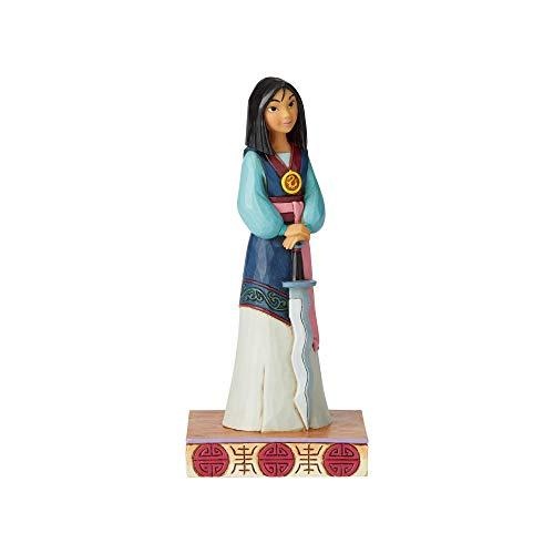 Enesco Disney Traditions by Jim Shore Princess Passion Mulan Figurine ()