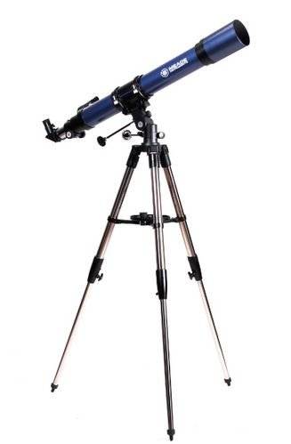 Meade 20225 TerraStar 60-Millimeter Altazimuth Refractor Telescope with Carry Bag (Silver) by Meade