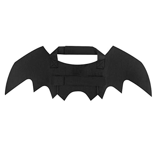 Aneforall Halloween Pet Bat Wings Cat Dog Bat Wings Costume Small Dogs Puppies Cats Pets Apparel for Party Halloween