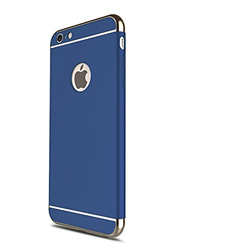 iphone 6 blue and gold case