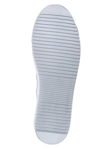 Delle Bianco Mezzo Uk Colmar Stringata 4 Scarpa Formato Classico Donne IqpwCwX