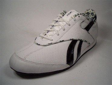 Reebok - Zapatillas para deportes de interior de cuero para mujer blanco Weiß-Schwarz 37.5