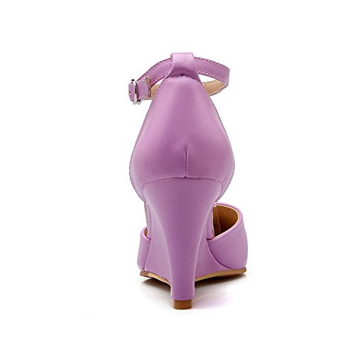 Girls Purple Soft Empty Sandals Material Engagement 1TO9 8wnqSp0d8