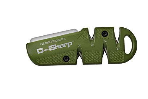 Lansky D-SHARP Diamond Pull Through Quad Angle Knife Sharpener, Green (DSHARP)