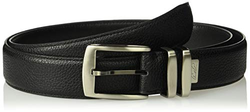 Arnold Ornament - Arnold Palmer Men's Classic Double Prong Golf Belt, Black, 38