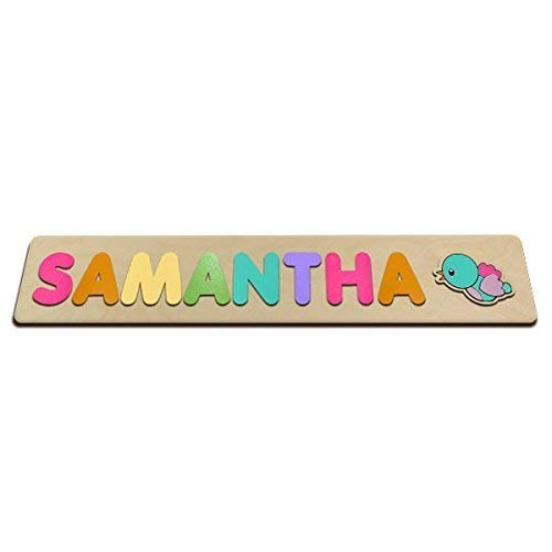 Cute Birdy Personalized Wooden Name Puzzle Customized For You