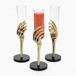 SKELETON HAND GLASSES (1 DOZEN) - BULK ()
