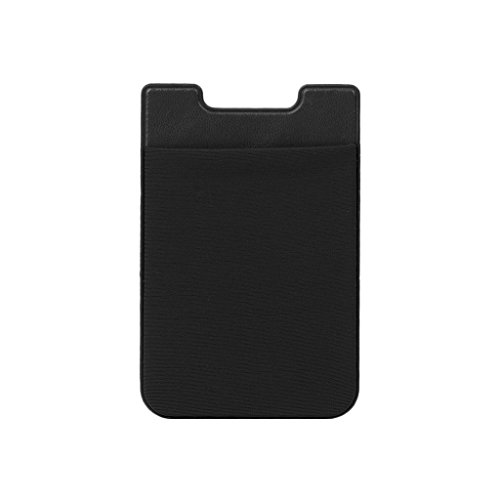 Noir Sur rouge Retour Portable Jiamins Bâton Autocollant Grip Adhésif Carte Portefeuille Téléphone qZxxazwP