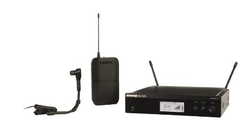 - Shure BLX14R/B98 Instrument Wireless System with BETA98H/C Clip-on Microphone, Rack Mount, J10