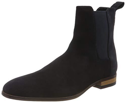 HUGO Herren Cult_Cheb_sd1 Chelsea Boots, Blau (Dark Blue 401), 41 EU