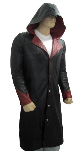 Class Jackets Halloween Costume Ideas Devil May Cry Long Coat For Mens S - Trench Coat Halloween Costume Ideas