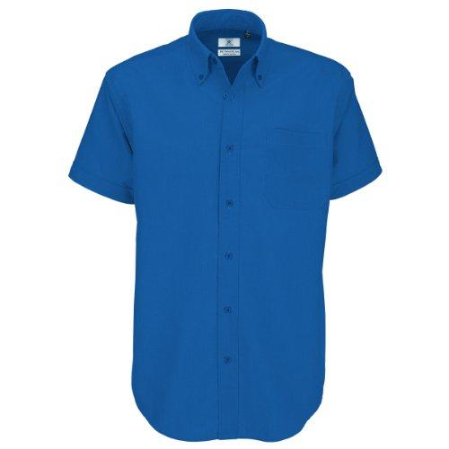 Oxford short sleeve/men COLOUR Blue Chip SIZE S