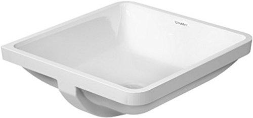 Duravit 0305430000 43cm Starck 3 Vanity Basin, (Medium Undermount Bathroom Sink)