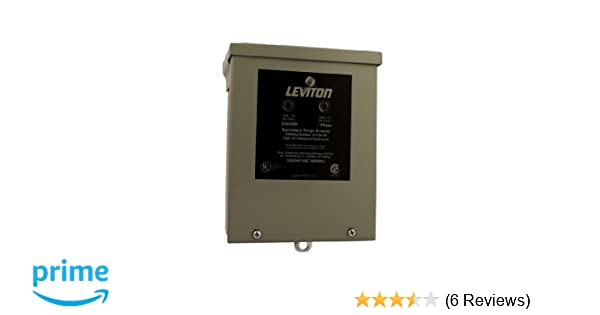 In NEMA 3R Enclosure Leviton 51120-3R 120//240 Volt Panel Protector 4-Mode Protection Light Commercial//Residential Grade