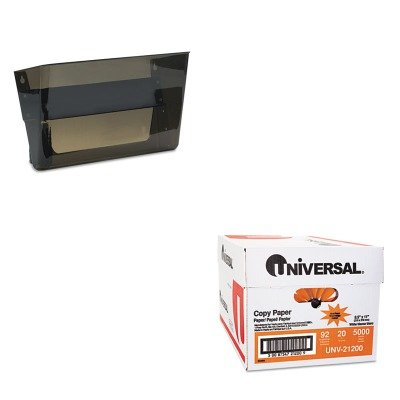 KITDEF73102UNV21200 - Value Kit - Deflect-o Letter-Size Magnetic Wall File Pocket (DEF73102) and Universal Copy Paper (UNV21200)