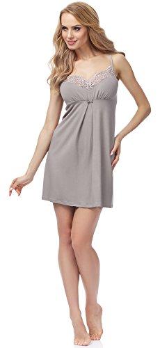 Merry Style Camisón para Mujer MSFX995 Mokka Claro