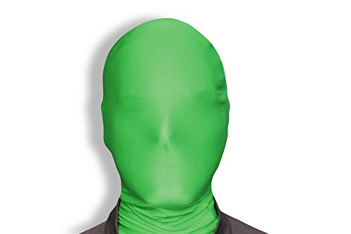 [Morphsuits Morphmask Original, Green, One Size] (Green Morphsuit)