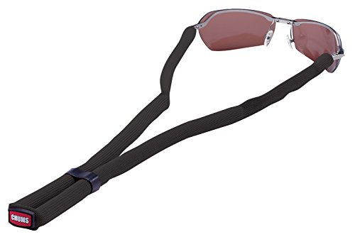 Chums Classic Glassfloats Eyewear Retainer, Black -