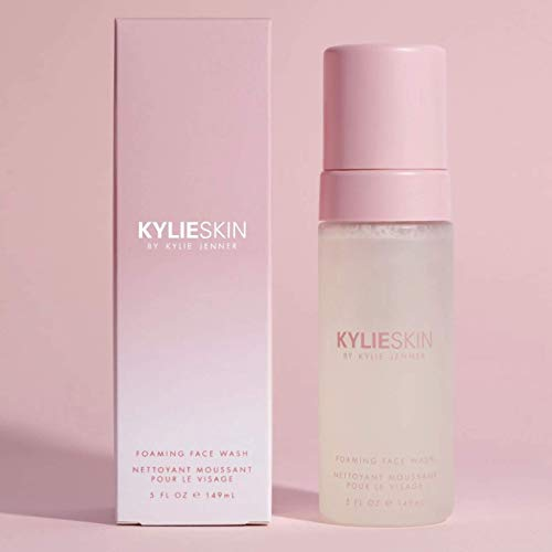Kylie Skin Foaming Face Wash 5 Fl. Oz! Infused with Kiwi Seed Oil Rich with Vitamin C And E! Cleanses Skin By Removing Dirt, Oil And Makeup! Cruelty Free, Gluten Free And Paraben Free! (Face Wash)