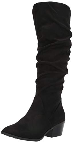 Carlos by Carlos Santana Women's Madelyn Knee High Boot, Black, 7.5 M M US