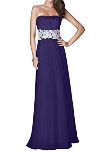 Missdressy - Vestido - trapecio - para mujer azul oscuro